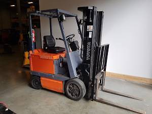 Toyota Electric Forklift- 4500lbs lift