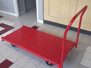 DAYTON HEAVY- DUTY STEEL DECK PLATFORM TRUCKS, 1600 LB CAPACITY Kitchener / Waterloo Kitchener Area image 2