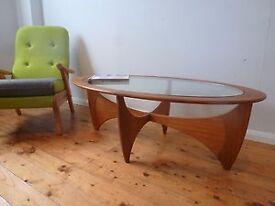 SOLD G-Plan Astro Table Teak Retro 1960s Mid-Century Ercol Danish era