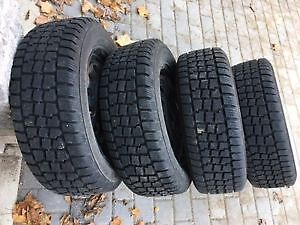 4 winter tires on rims - Hercules Avalanche Xtreme 205 60R15 Peterborough Peterborough Area image 5