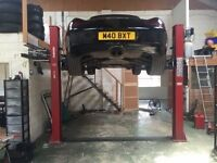 Workshop space for project cars in West Berkshire