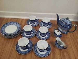 Bombay Prestwick Blue & White Coffee & Tea, Brand New, Gorgeous! West Island Greater Montréal image 2
