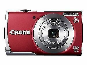 "Canon A2600 ►5x Zoom HD Camera ►16MP ►3""LCD ►Free Bag ►720P ►NEW"