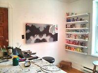 Ateliers d'artiste à louer -Plateau / Mile-end - artist studio