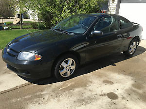 2005 Chevrolet Cavalier Z24 black Coupe (2 door)