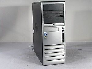 HP DC7700 Tower Computer:Core 2 Duo 1.87Ghz 2GB 160GB DVD Win 7