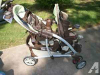 Great condition Graco double stroller