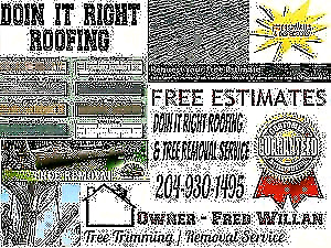 DOIN IT RIGHT ROOFING