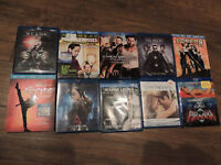 Blu Ray Movies,  $2.00 each