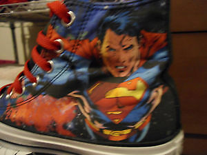 DC Comics Superman Converse Shoes