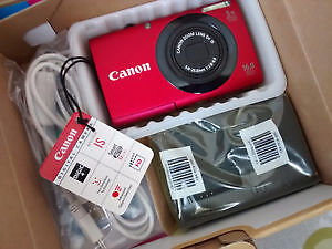 Brand New Canon Powershot 16mp Digital Camera with Wi Fi