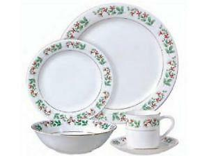 vintage christmas dinnerware - Christmas China Sets