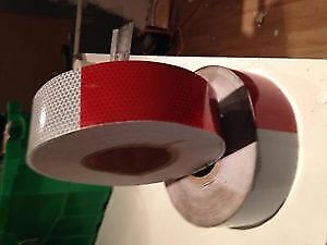 rouleau de ruban retroreflechissant 150 pieds 20$