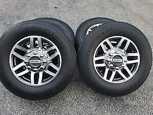 NEW- FORD SUPERDUTY - FACTORY 18-INCH RIMS & TIRES - $1500 O.B.O