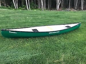 Black Spruce 15' Canadian Model Lite-Weight Fiberglass Canoes
