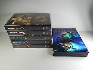 Babylon 5 DVD Set with Crusades