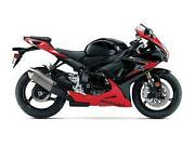 Suzuki GSXR 750 Motorcycle