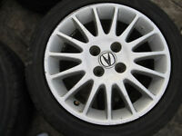 195/65/15 Nokian Winter tires & rims out of Honda Civic or Acura