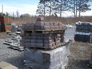 Garden Walls: $2.00 each, Interlocks: $2.50/sq.ft., Flag Stone,