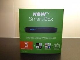 NEW Now TV Smart Box With 3 Months Entertainment Pass