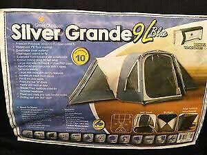 Silver Grande 9L family tent Harrison Gungahlin Area Preview