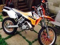 KTM Dirt Bike Excellent Condition
