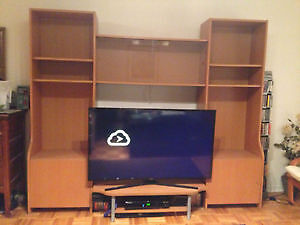 Ikea wall unit/ TV stand