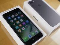 iPhone 7 plus 32GB Jet Black (brand new unopened, vodaphone)