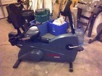 Life Fitness 9500HR Commercial Recumbent Bikes-GREAT SHAPE