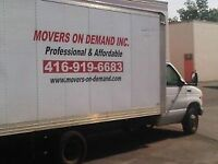 MOVERS AVAILABLE THIS MONTH END AT GOOD PRICES