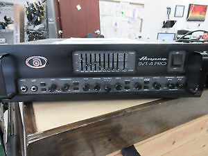 **BACK TO BASS** Ampeg Bass Amp
