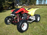 2001 honda 400ex excellent cond, trade for YJ TJ Toy