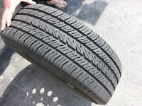4 Michelin tires..like new--all seasonal..P175 65 r14-