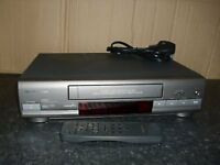 FERGUSON FV401LV VCR VHS Player/Recorder - Black