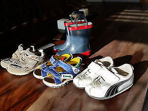 Assorted Toddler shoes size 7. Various Kids shoes size 3T