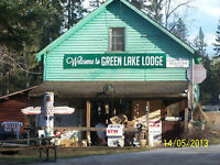 Cabin or Campside Rentals Available at Green Lake, SK