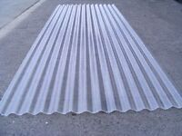 Looking for plastic corrugated roofing material