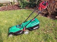 Qualcast 1400W Electric Rotary Lawn Mower + Free Strimmer