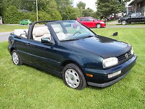 1996 Volkswagen Cabrio CUIR BEIGE Cabriolet