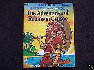 Adventures of Robinson Crusoe by Daniel Defoe $3
