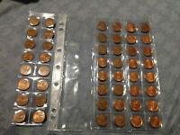 Lot Complets de 1 cent 1965-2012 dans un Numis