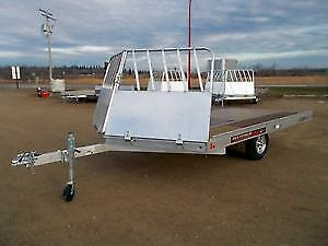 WANT TO BUY -ALUMINUM 14'Snowmobile trailer