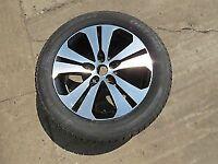 Kia Sportage Alloy and tyre