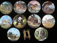 Endangered Species Collector Plates