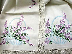 Embroidered Dresser Scarves
