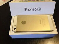 IPHONE 5S gold 16 gb good condition bell and virgin mobile