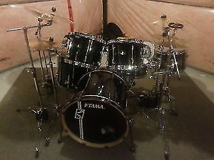 Tama Superstar 5 pc kit w/ cymbals and hardware (plus extras)
