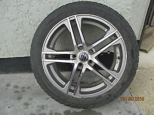 Aluminum Rims with Tires / set of 4