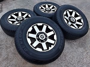 2018 Toyota 4Runner wheels and tires
