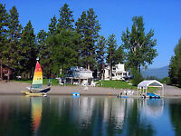 Last Minute Availability, Lakefront, Aug 3-7, Wasa Lake, BC